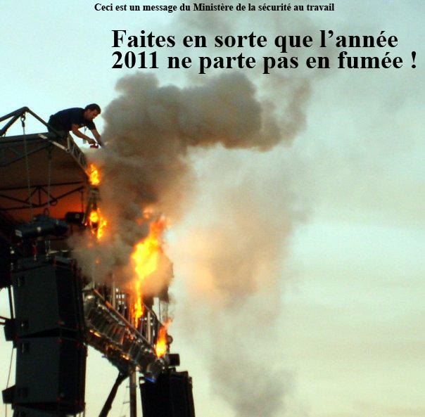 """Ha""""papa""""py New Year 2011 Fume"""